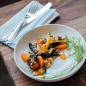 Carrot, Orange and Sesame Salad
