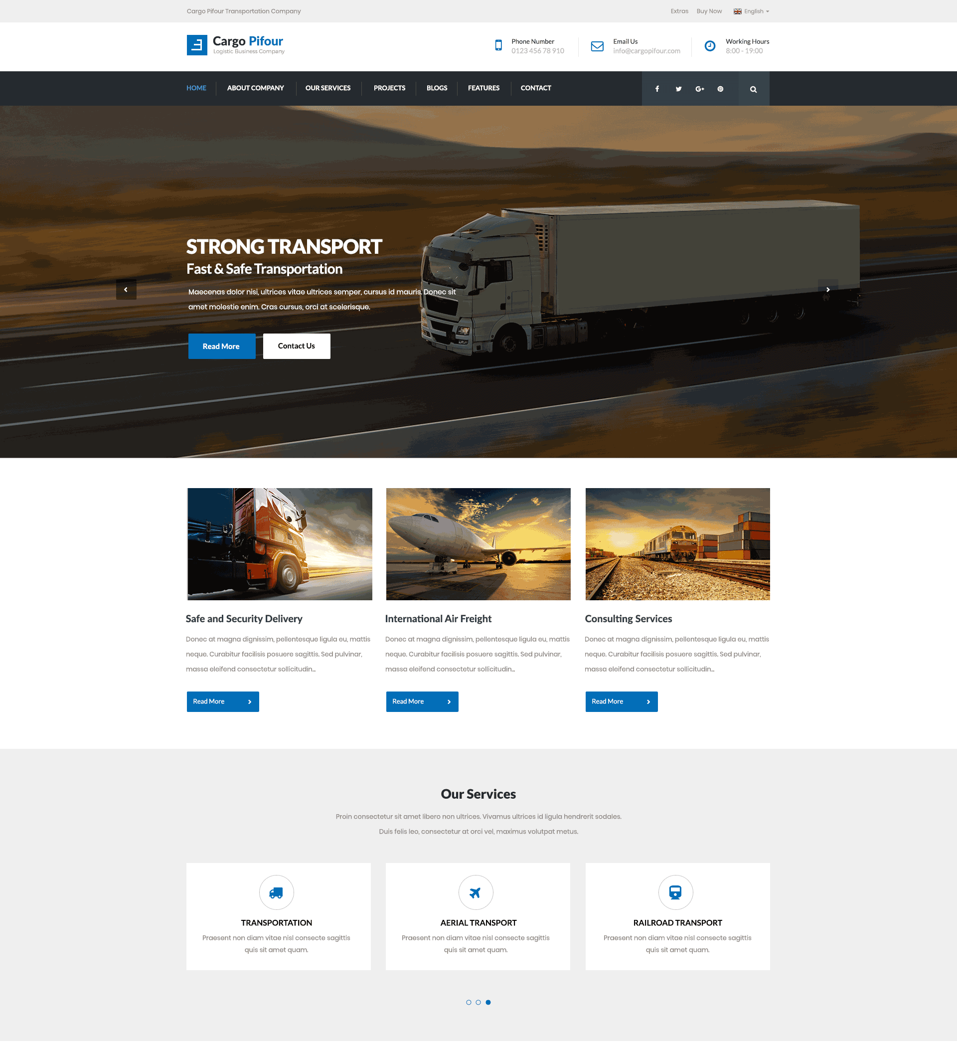 cargo pifour